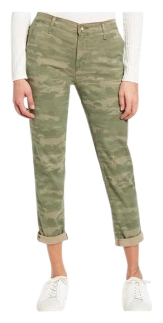 Item - Green Caden Camo Soft Twill Trousers Style: #sbw1613p Pants Size 12 (L, 32, 33)