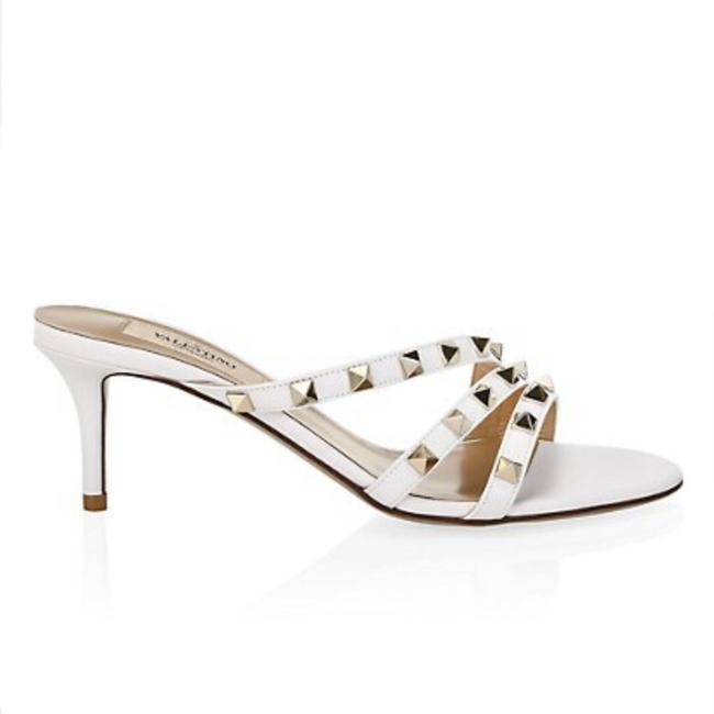Item - White Rockstud Sandals Size EU 41 (Approx. US 11) Regular (M, B)
