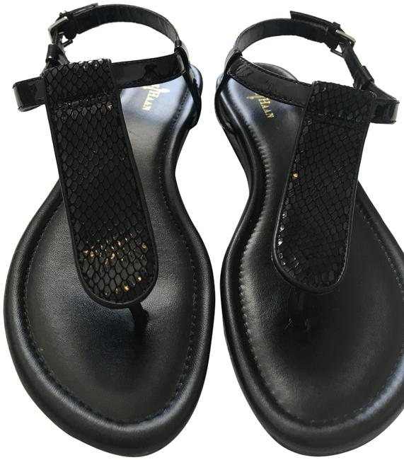 Item - Black Sandals Size US 6.5 Regular (M, B)