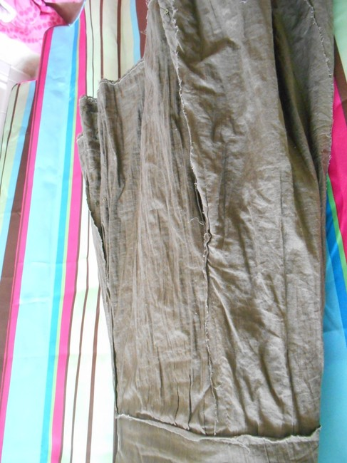 Urban Outfitters Green Hippy Small Skirt olive