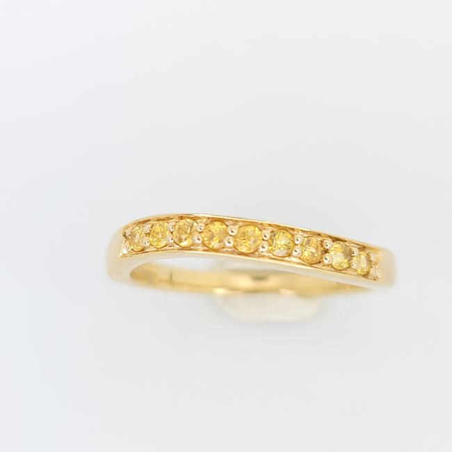 Item - Yellow Gold Sapphire Anniversary Style Band Ring