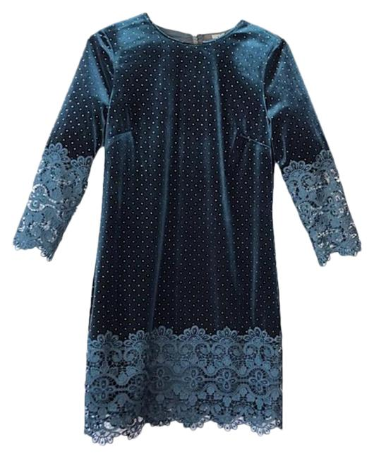 Item - Green Bsd4159 Peacock Mid-length Night Out Dress Size 0 (XS)