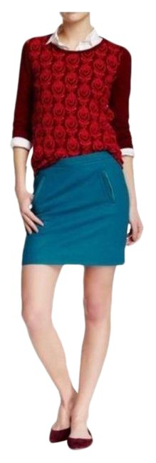 Item - Blue Pacific Wool Pencil Pockets Skirt Size 6 (S, 28)