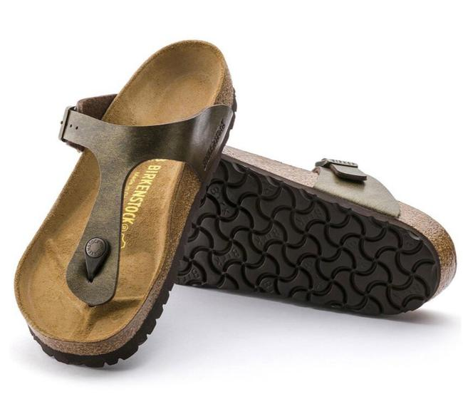 Item - Golden Brown Sandals Size US 6 Regular (M, B)
