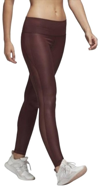 Item - Red XS Maroon Mesh Activewear Bottoms Size 2 (XS, 26)