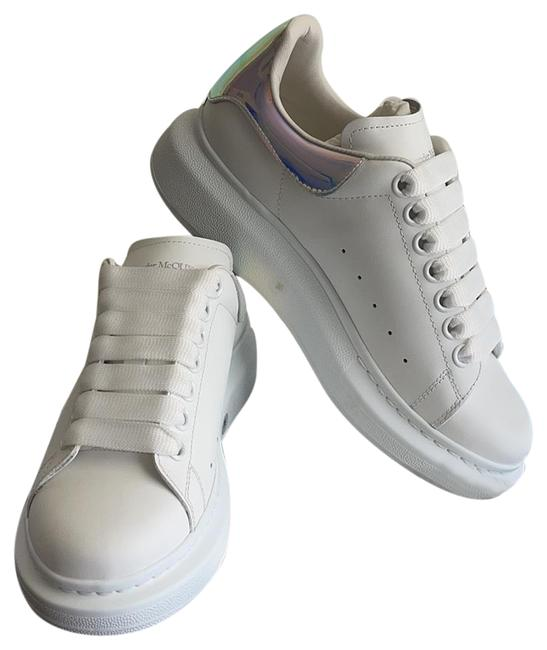 Item - White Oversized Sneakers Size EU 36 (Approx. US 6) Regular (M, B)