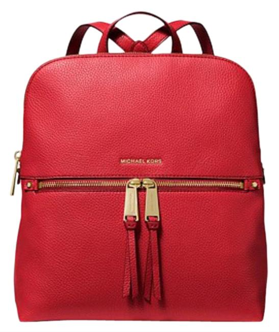 Item - Backpack - Rhea Medium Slim Red Cross Body Bag