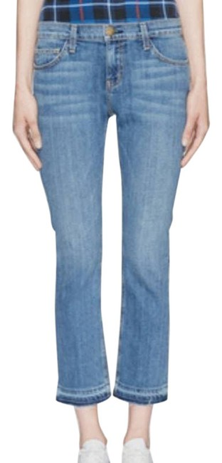 Item - Blue The Straight Released Hem Capri/Cropped Jeans Size 28 (4, S)
