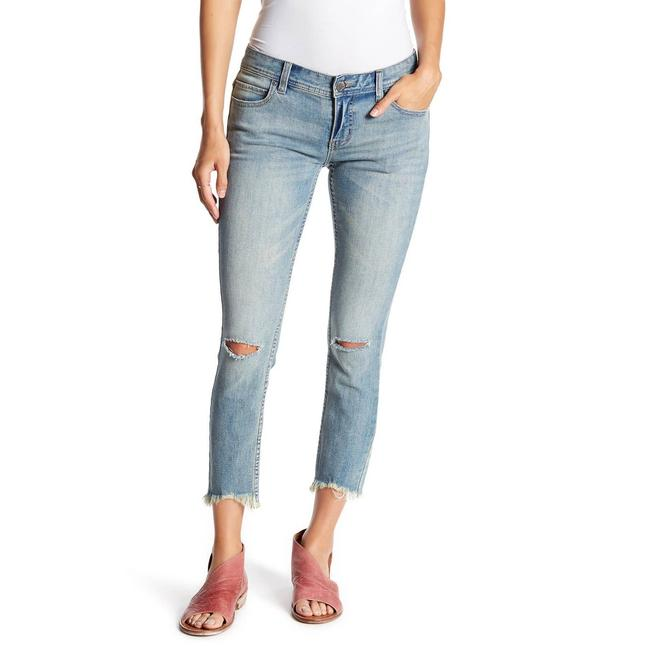 Item - Blue Low Rise Destroyed Skinny Jeans Size 26 (2, XS)