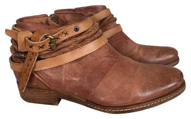 Item - Brown/Tan Begonia Ankle For Free People Boots/Booties Size EU 38 (Approx. US 8) Regular (M, B)