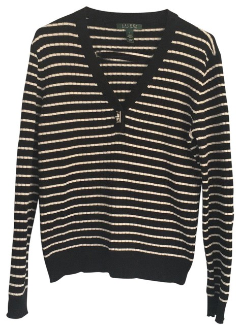 Item - Cotton Black and White Sweater