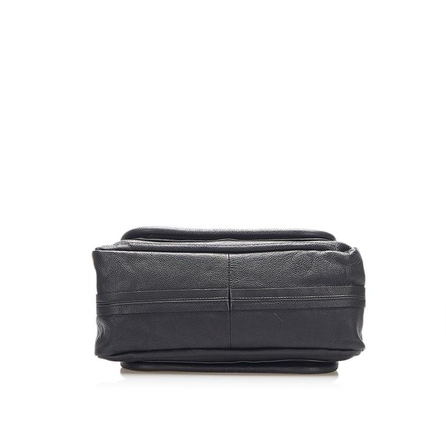 Item - Paraty Black Leather Satchel