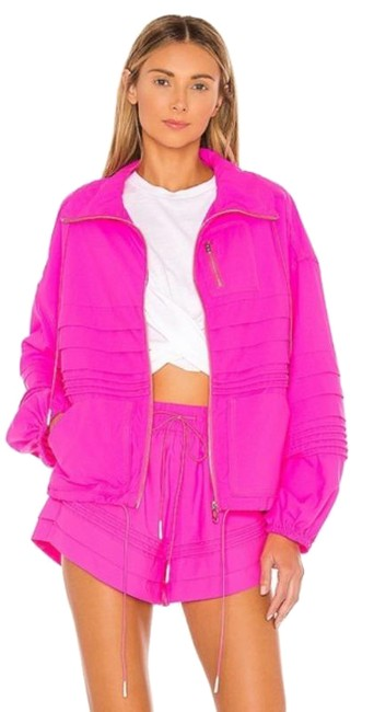 Item - Pink Check It Out Activewear Outerwear Size 12 (L)