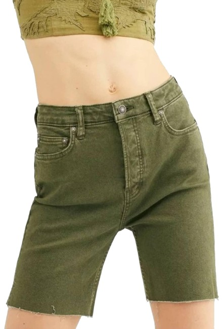 Item - Green We The Avery Army 6 Fp Shorts Size 2 (XS, 26)