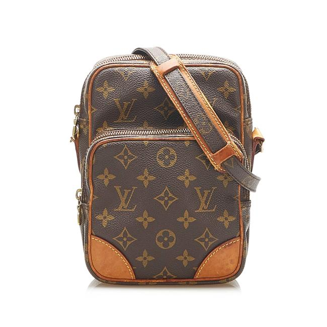 Item - Amazone Amazon Monogram Brown Leather Cross Body Bag