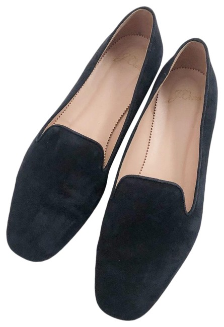Item - Black Suede Smoking / Loafers Flats Size US 8.5 Regular (M, B)
