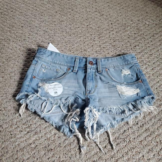Item - Blue Frayed Shorts Size 4 (S, 27)