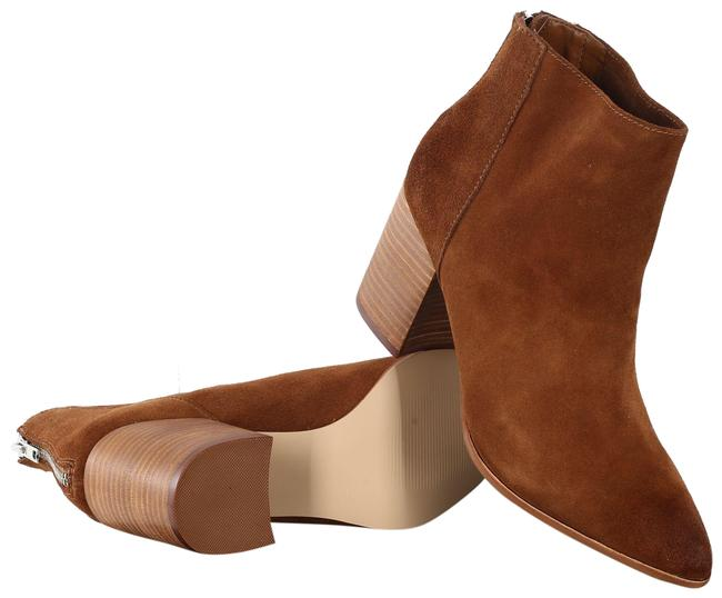 Item - Tan/ Brown Pointed Boots/Booties Size US 8 Regular (M, B)