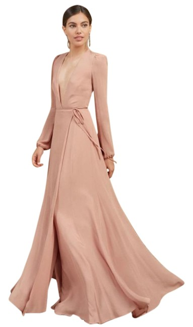 Item - Pink Milan Blush Long Formal Dress Size 0 (XS)
