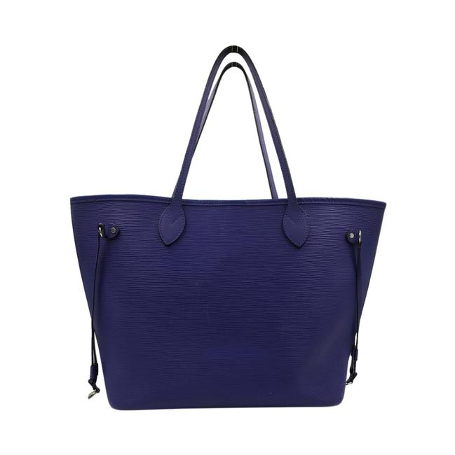 Louis Vuitton Neverfull Mm Purple Epi Leather Tote Louis Vuitton Neverfull Mm Purple Epi Leather Tote Image 2