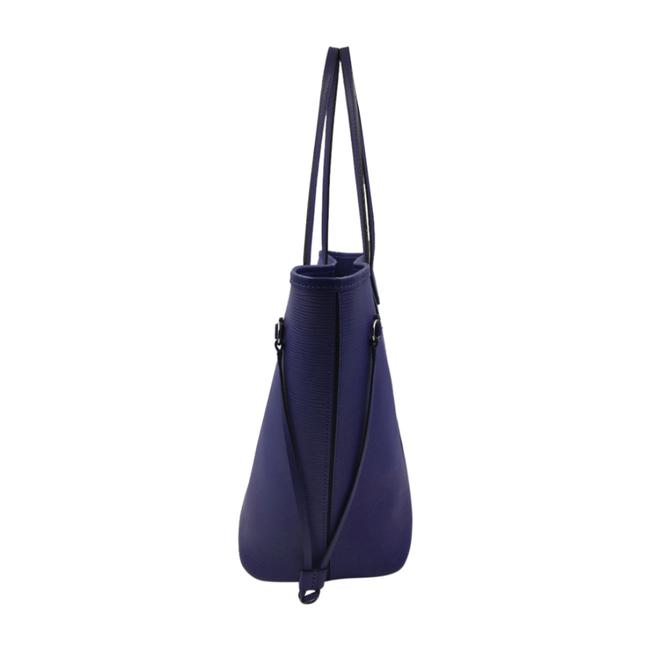 Louis Vuitton Neverfull Mm Purple Epi Leather Tote Louis Vuitton Neverfull Mm Purple Epi Leather Tote Image 3