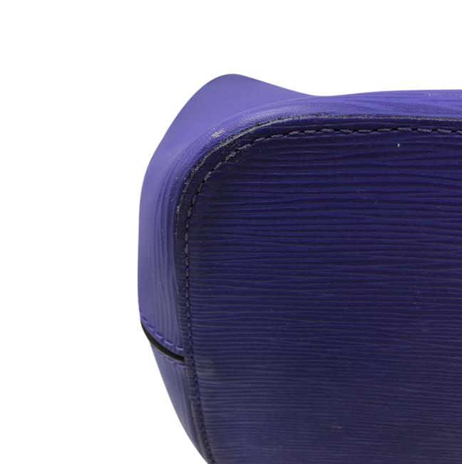 Louis Vuitton Neverfull Mm Purple Epi Leather Tote Louis Vuitton Neverfull Mm Purple Epi Leather Tote Image 5