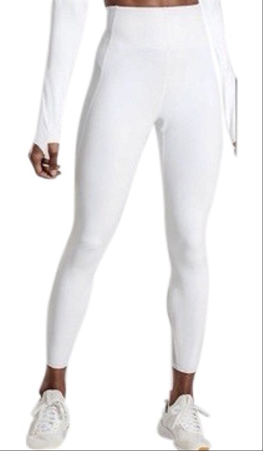 Item - White Stay Fly Reflective Snake Activewear Bottoms Size 0 (XS)