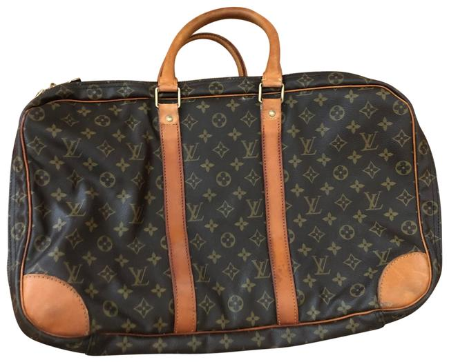 Item - Monogram Briefcase Brown Leather Weekend/Travel Bag
