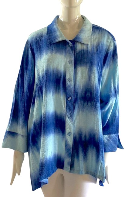 Item - *new Summer Casual Button-down Top Size 22 (Plus 2x)