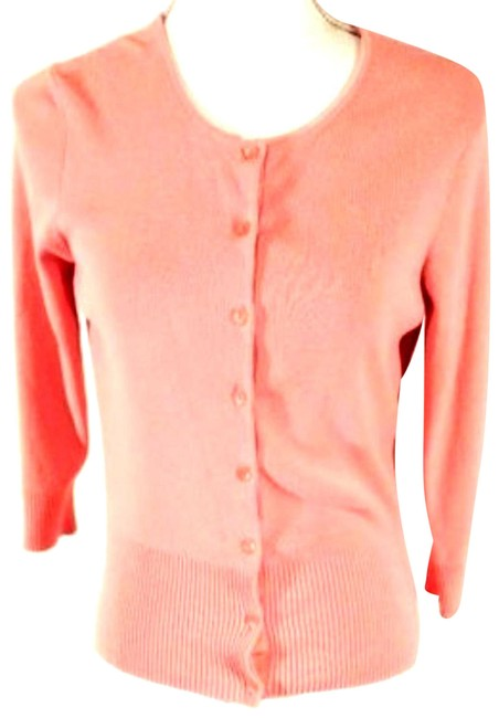 Item - Pink Womens Sweater Button Up Small 761 Cardigan Size 4 (S)