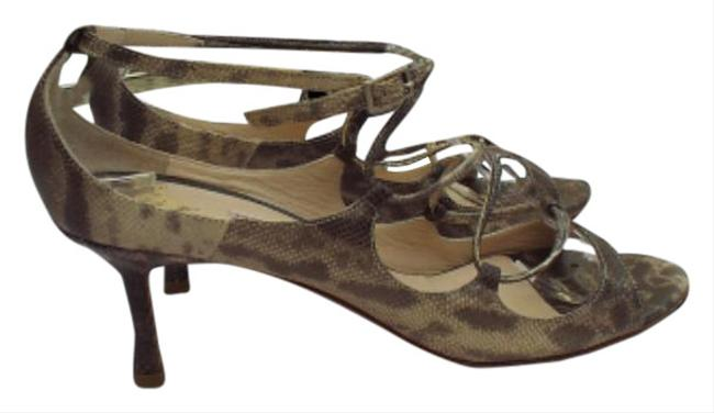 Item - Snake Skin Boutique Pumps Size EU 37 (Approx. US 7) Narrow (Aa, N)