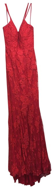 Item - Red Long Formal Dress Size 2 (XS)