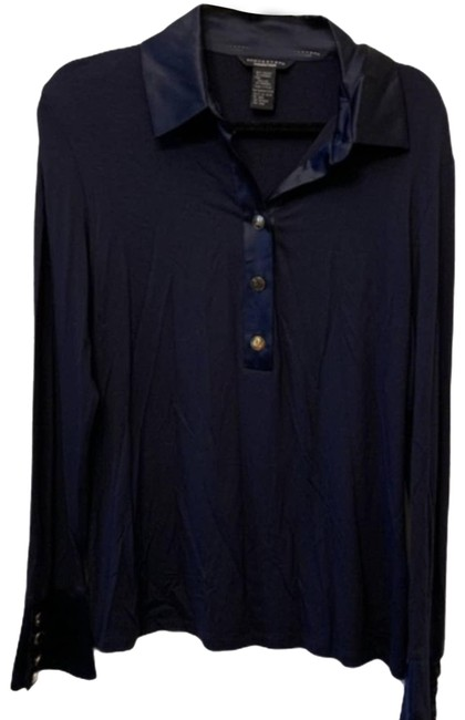 Item - Black Collection Long Sleeve Blouse Size 8 (M)