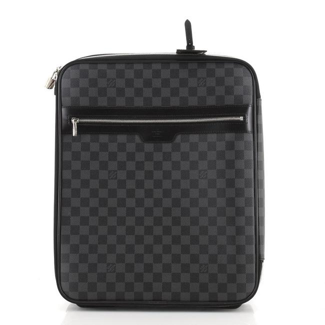 Item - Légère Pegase Luggage Damier Graphite 45 Black Coated Canvas Weekend/Travel Bag