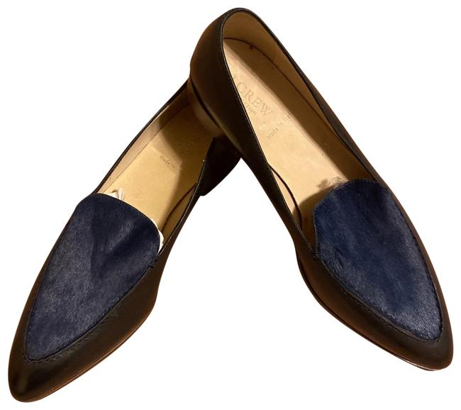 Item - Navy Leather Made In Italy Flats Size US 9 Regular (M, B)