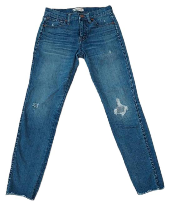 Item - Blue Medium Wash 9 In High Rise Skinny Jeans Size 26 (2, XS)