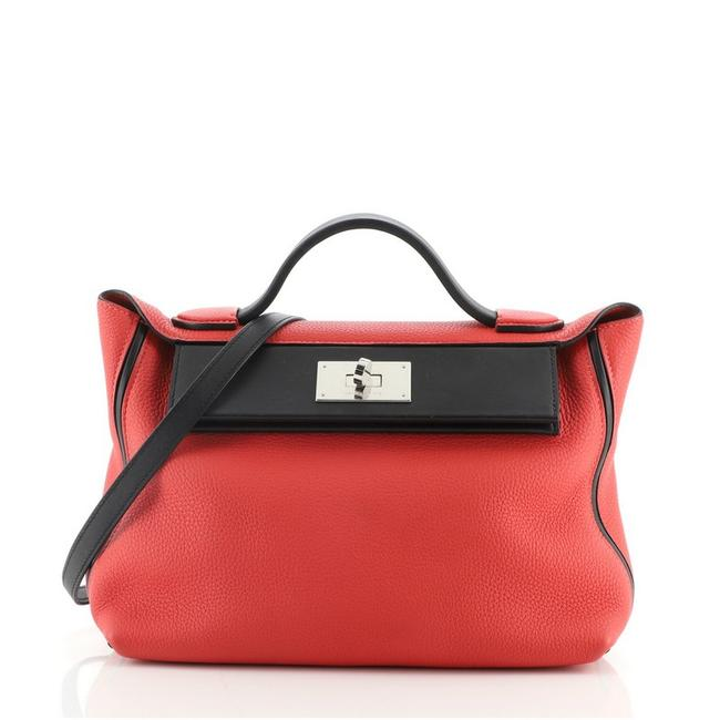 Item - 24/24 with Swift 29 Red Leather Tote
