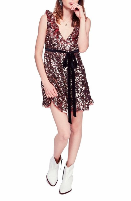 Item - Tribeca Siren Sequin Sparkle Mini Short Night Out Dress Size 8 (M)