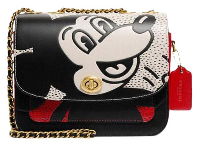 Item - Disney X Mickey Mouse Keith Haring Madison Multicolor Leather Shoulder Bag