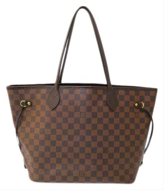 Item - Neverfull Damier Mm N51105 Ladies Brown Tote
