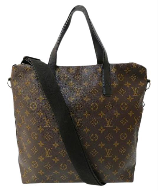 Item - Kitan Monogram Macassar M40388 2way Shoulder Unisex Brown Tote