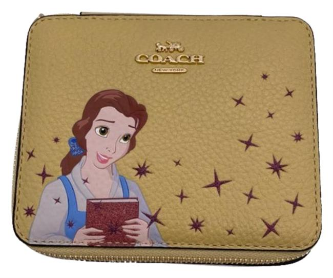 Coach Yellow Cream Box Disney X Large Coach Yellow Cream Box Disney X Large Image 1