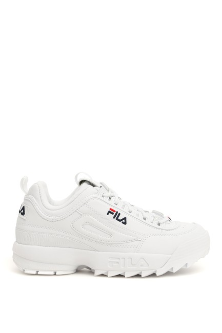 Item - White Disruptor Sneakers Size US 9 Regular (M, B)