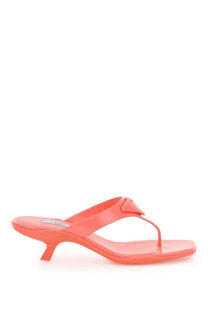 Item - Multicolored Thong with Logo Mules/Slides Size EU 37 (Approx. US 7) Regular (M, B)
