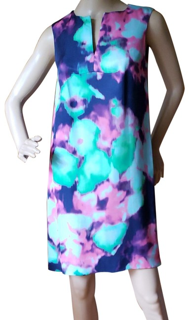 Item - Multi Color Simply Cinema Mid-length Work/Office Dress Size 0 (XS)