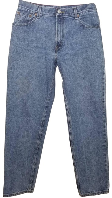 Item - Blue Medium Wash Vintage Tapered 550 High Rise 12 Relaxed Fit Jeans Size 31 (6, M)