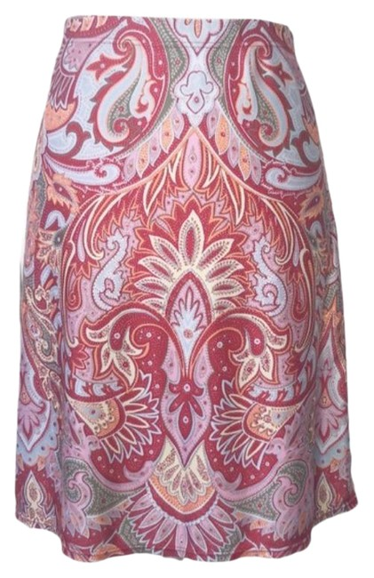 Item - Red Paisley Athleisure Activewear Bottoms Size 4 (S, 27)