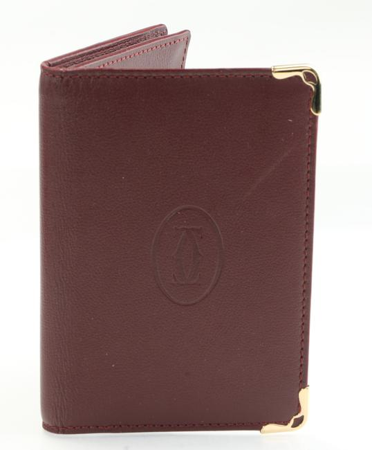 Item - Burgundy Must Be Wallet Men's Jewelry/Accessory