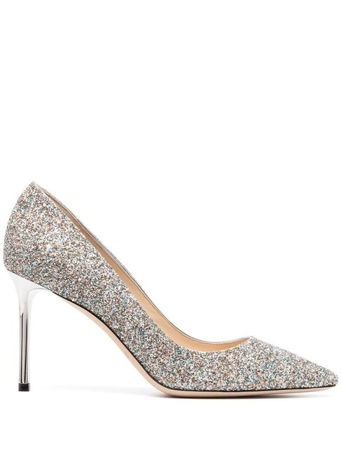 Item - Silver Romy 85 Pumps Size EU 39 (Approx. US 9) Regular (M, B)