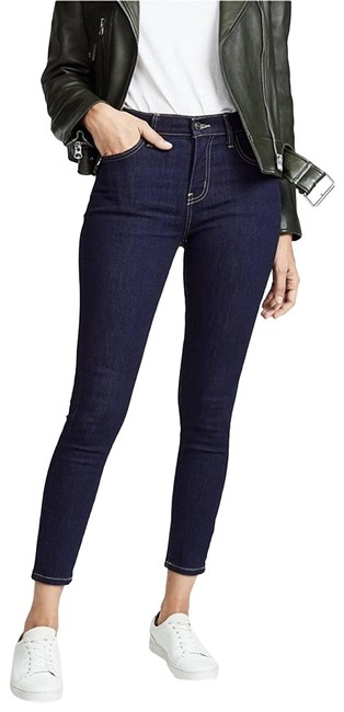 Item - Blue  The High Rise Stiletto Stretch Skinny Jeans Size 30 (6, M)